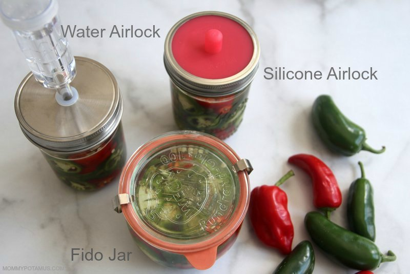 "Homemade ""Pickled"" Jalapenos - My favorite five minute ferment! They're pretty much fail-proof, and they take my favorite 8-layer dip from oohhhkay to OH. MY."
