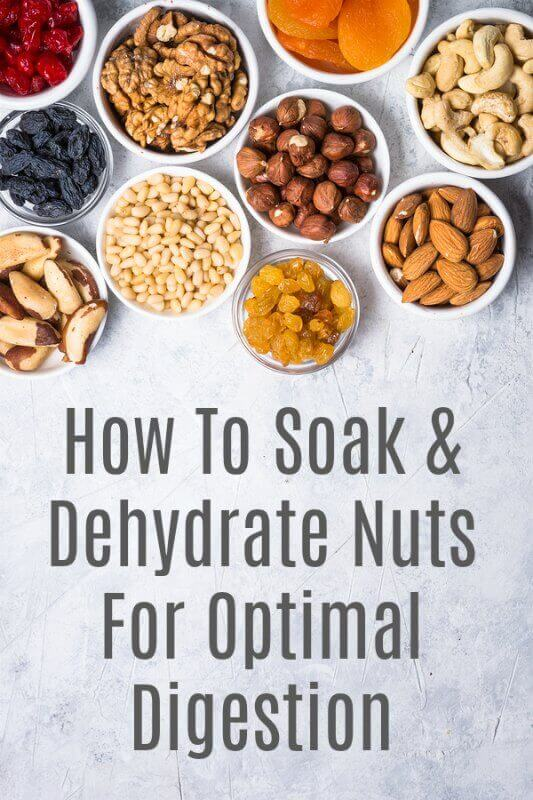 soaking and dehydrating nuts tutorial