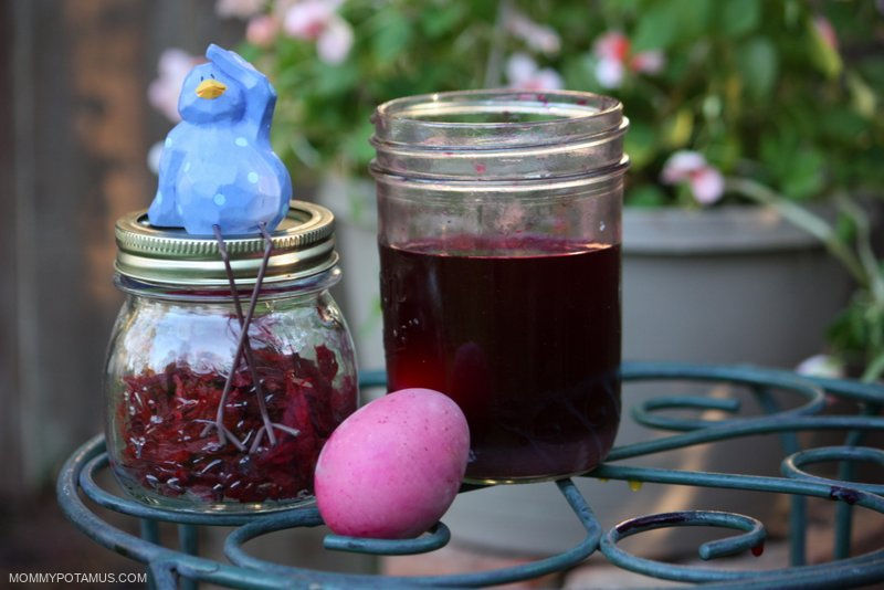 homemade-easter-egg-dye-beets