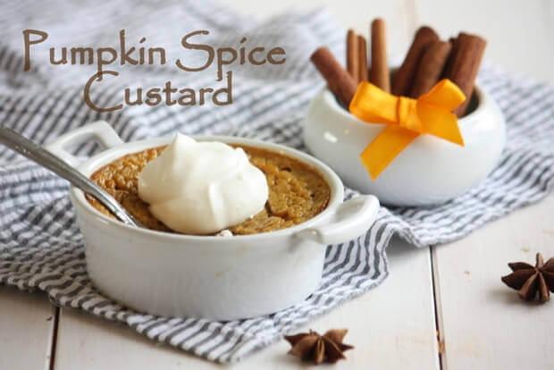 Pumpkin Spice Custard With Marrow Infusion ...