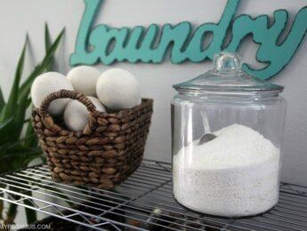 homemade natural detergent recipe