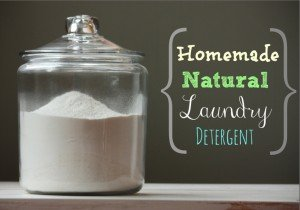 homemade natural laundry