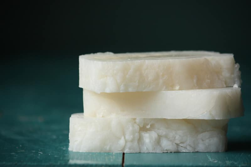 This 3-ingredient pure coconut oil soap is perfect for both cleansing your skin and