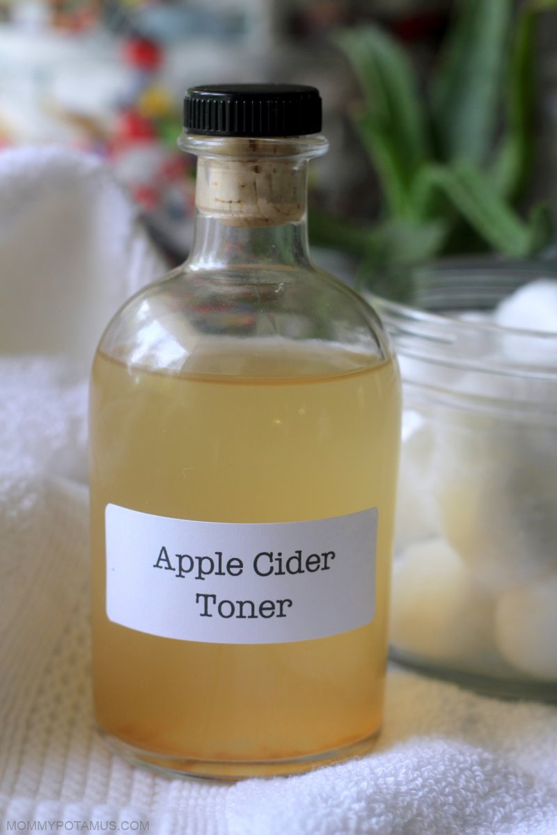 apple cider vinegar toner recipe