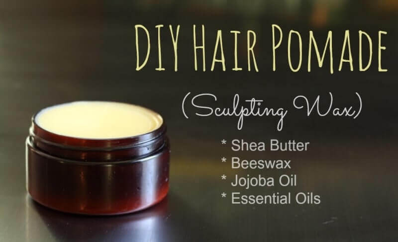 DIY Hair Pomade (Sculpting Wax)