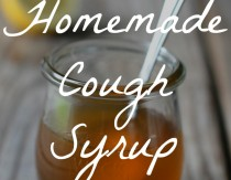 Soothing Homemade Cough Syrup