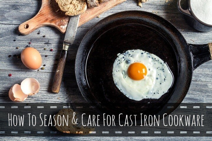 How to season cast iron cookware (plus regular care instructions)