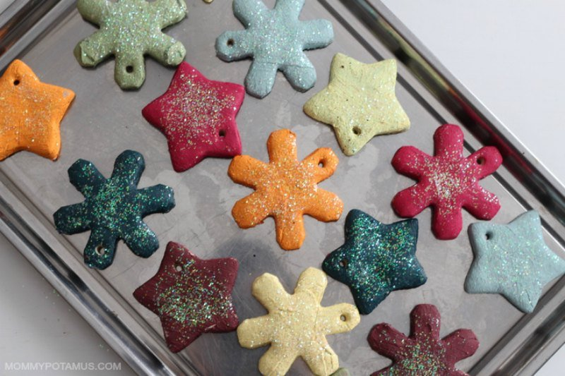 Easy recipe for salt dough ornaments