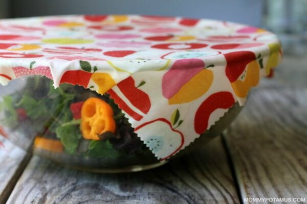 DIY Reusable Food Wrap