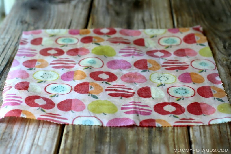 DIY Reusable Snack Bags - Step 1