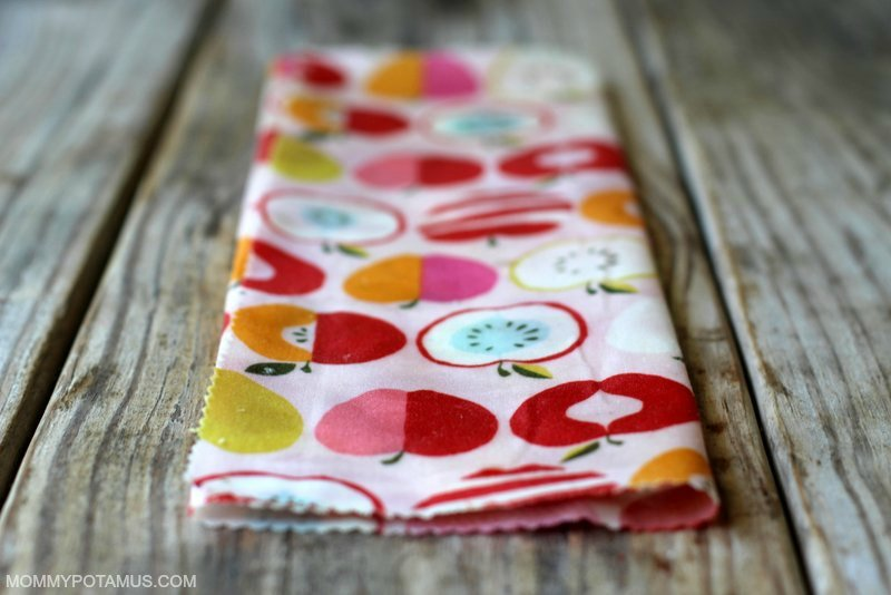 DIY Reusable Snack Bags - Step 2