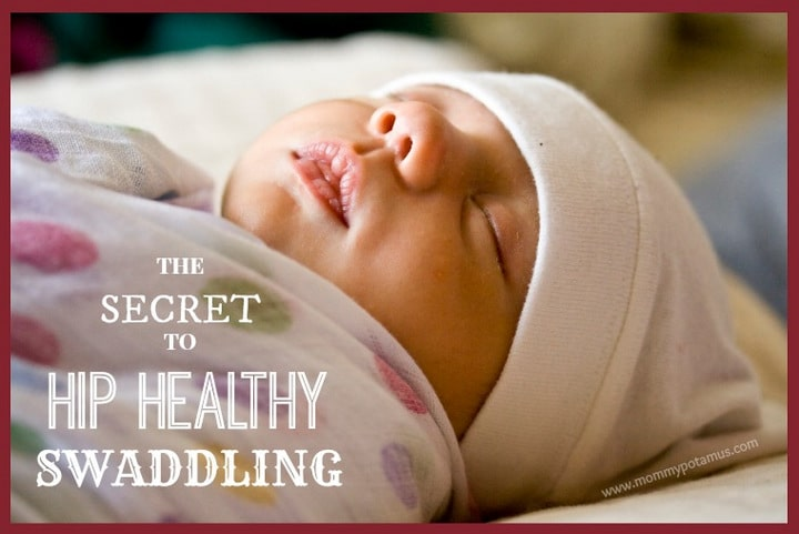 According to a recent study, improper swaddling techniques can cause serious problems, like HIP DYSPLASIA and even dislocated hips. Here's how to get all the benefits of swaddling - better sleep and less crying - while promoting healthy hip development.