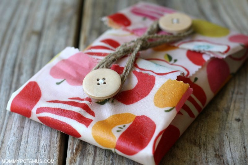 DIY Reusable Snack Bags - Step 6
