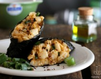 Scallop Rolls With Chipotle Sauce