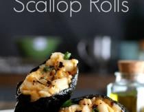 Chipotle Scallop Rolls