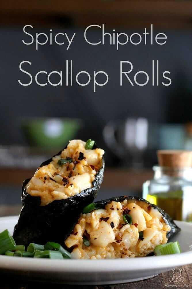 scallop-rolls