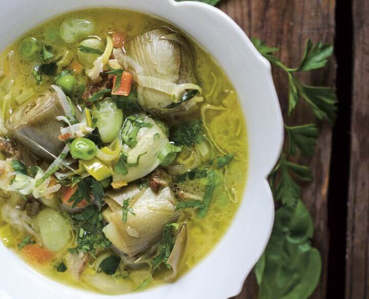Spring Vegetable Stew from The Nourished Kitchen Cookbook