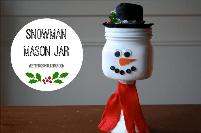Snowman-Mason-Jar-Candy-Jar