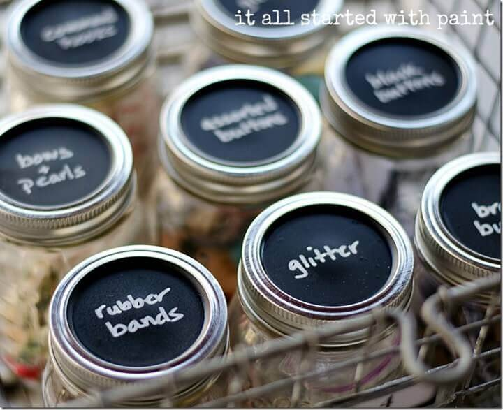 50 creative ways to use mason jars for Mason jar craft storage