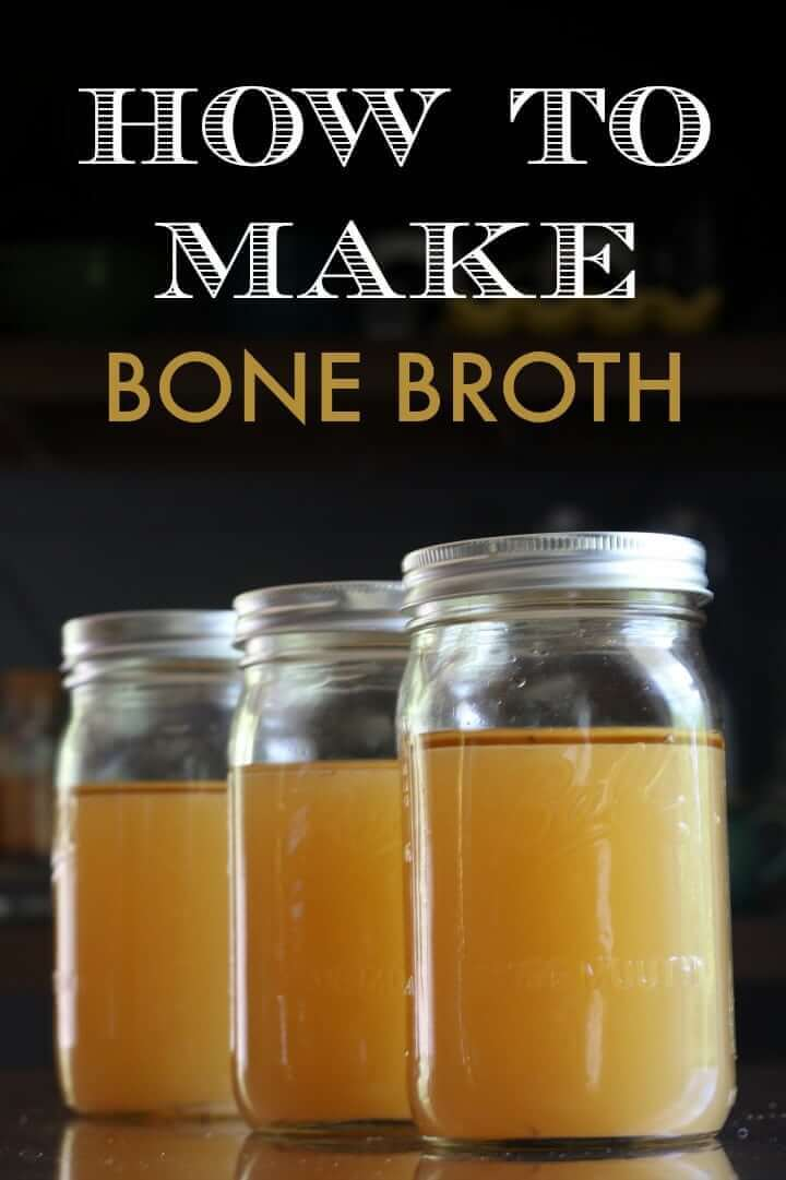 Bone broth contains anti-aging components,
