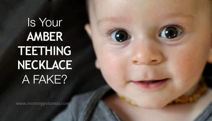 Is your child's teething necklace a fake? Here are three simple tests you can do at home to find out.