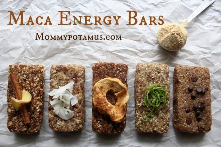 5 Maca Energy Bar Recipes
