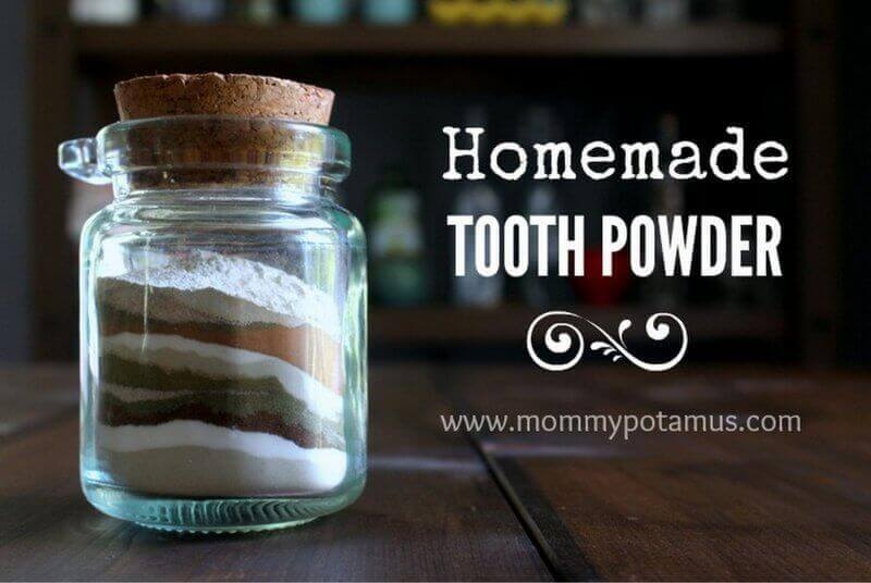 tooth powder recipe a