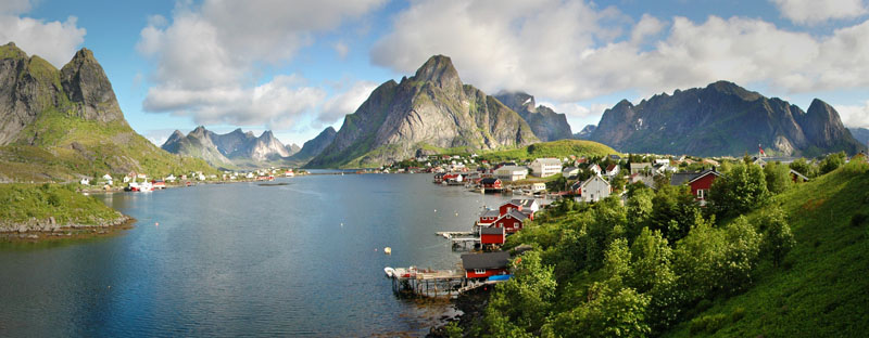 reine panoramic lofoten