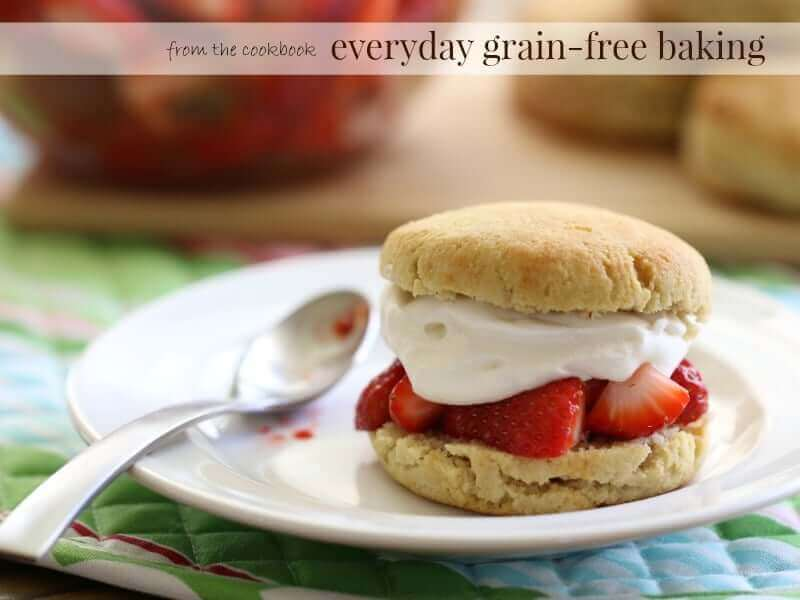 Strawberry Shortcake Biscuits (Grain-Free, Dairy-Free)