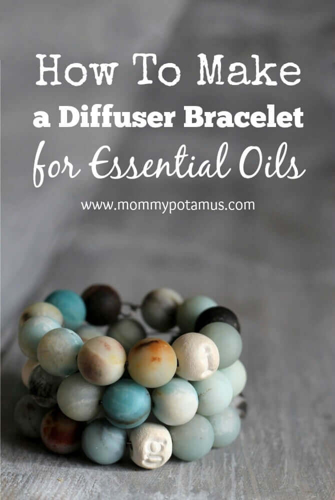 Aromatherapy that lasts all day without having to hold a bottle under your nose? Yes! This DIY Essential Oil Diffuser Bracelet makes it possible to enjoy your favorite oils on the go where plug-in room diffusers can't go.