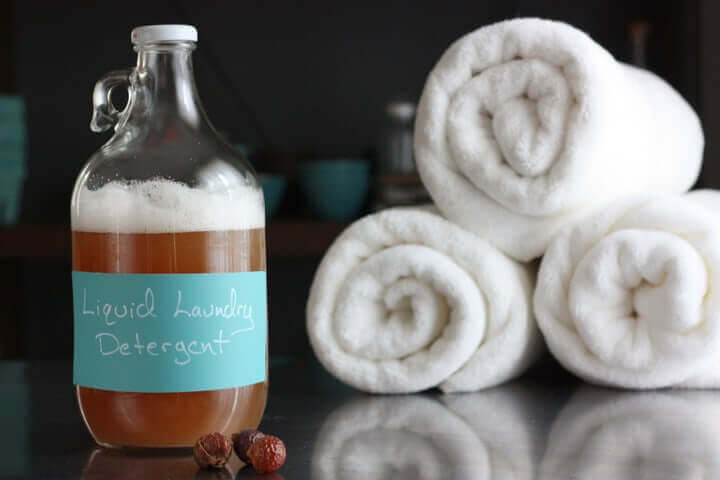 Homemade Liquid Laundry Detergent