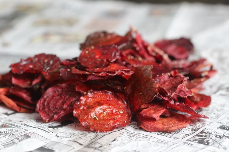 rosemary beet chips recipe