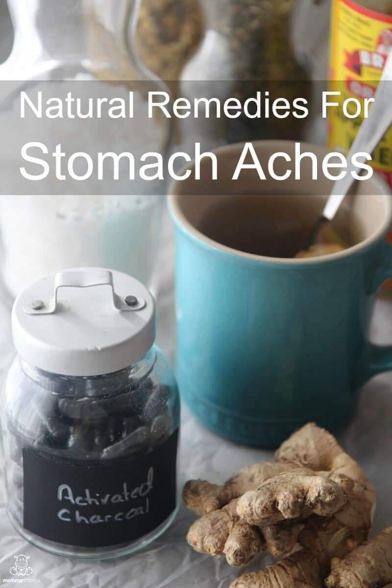 home remedies stomach ache