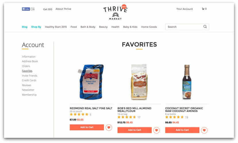 thrive-market-shopping-list