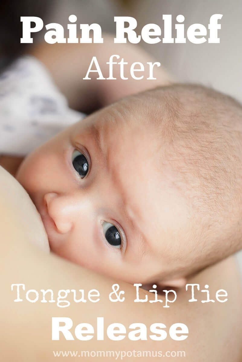 Natural pain relief options after tongue and lip tie surgery