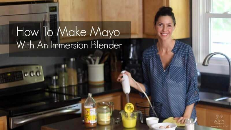 Video: How To Make Mayo With An Immersion Blender