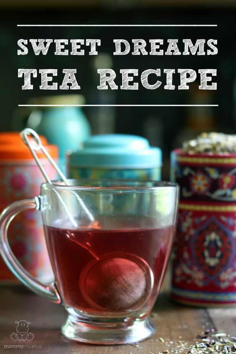 Two delicious recipes for herbal tea that encourage restful sleep #sleepytea #herbaltea