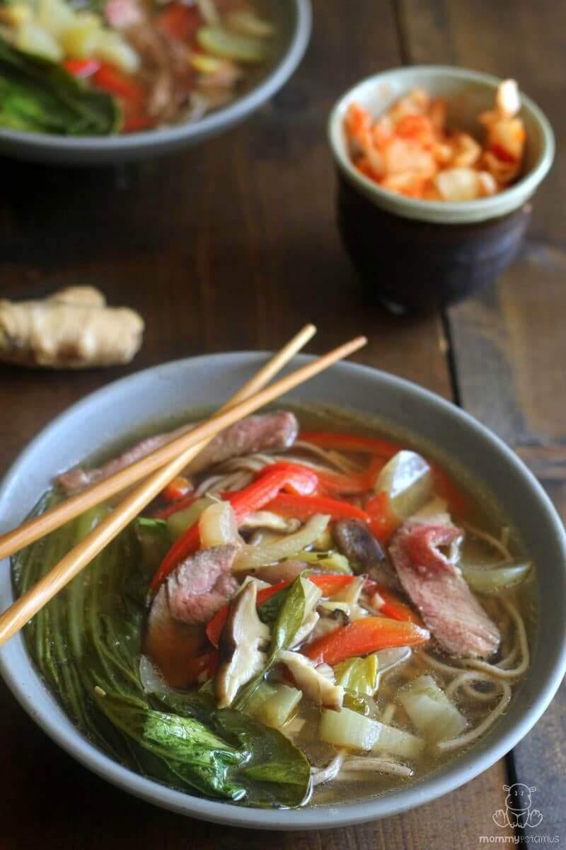 Asian Beef Noodle Soup 45