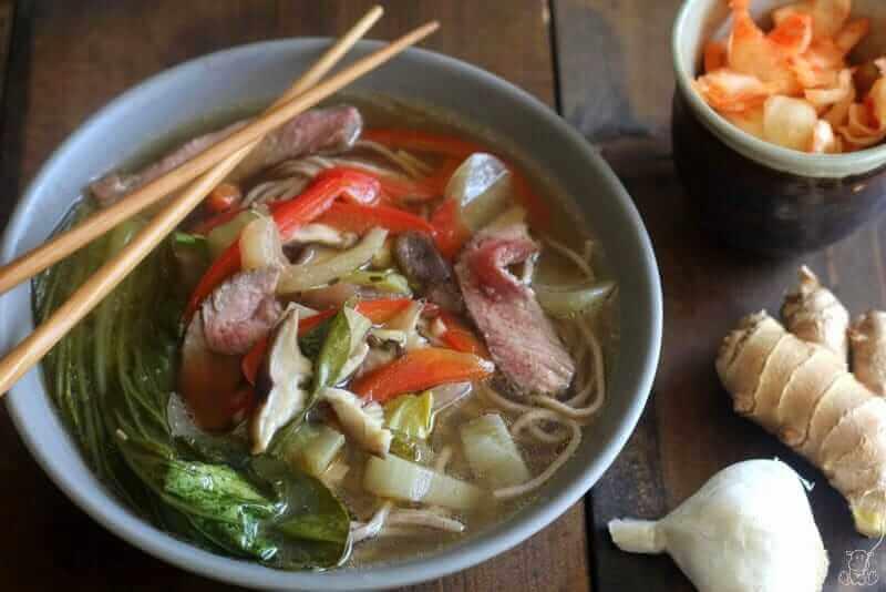 Asian Beef Noodle Soup 7