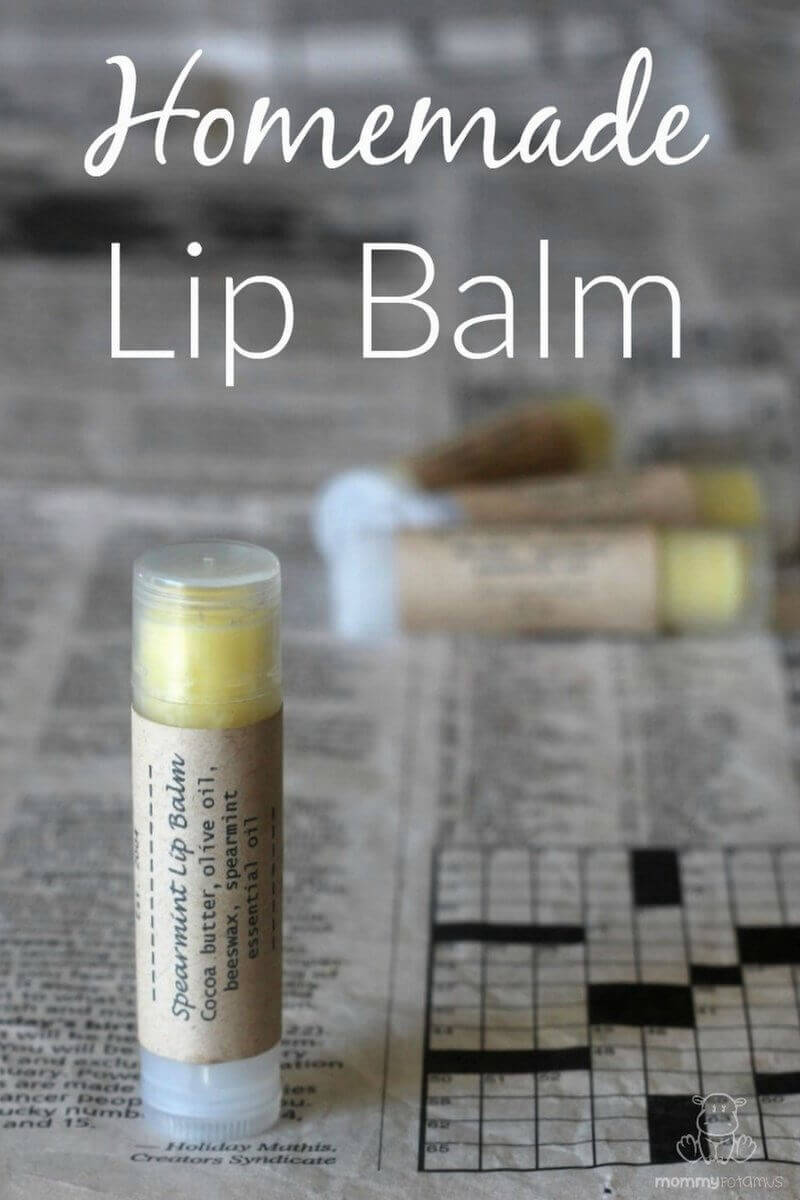 homemade lip balm recipe mommypotamusmommypotamus. Black Bedroom Furniture Sets. Home Design Ideas