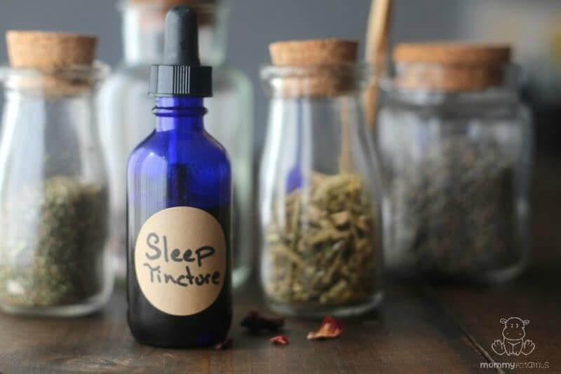homemade sleep tincture recipe