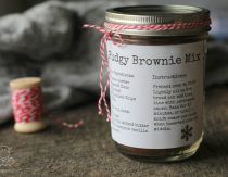 Mason Jar Brownie Mix (Gluten-Free)