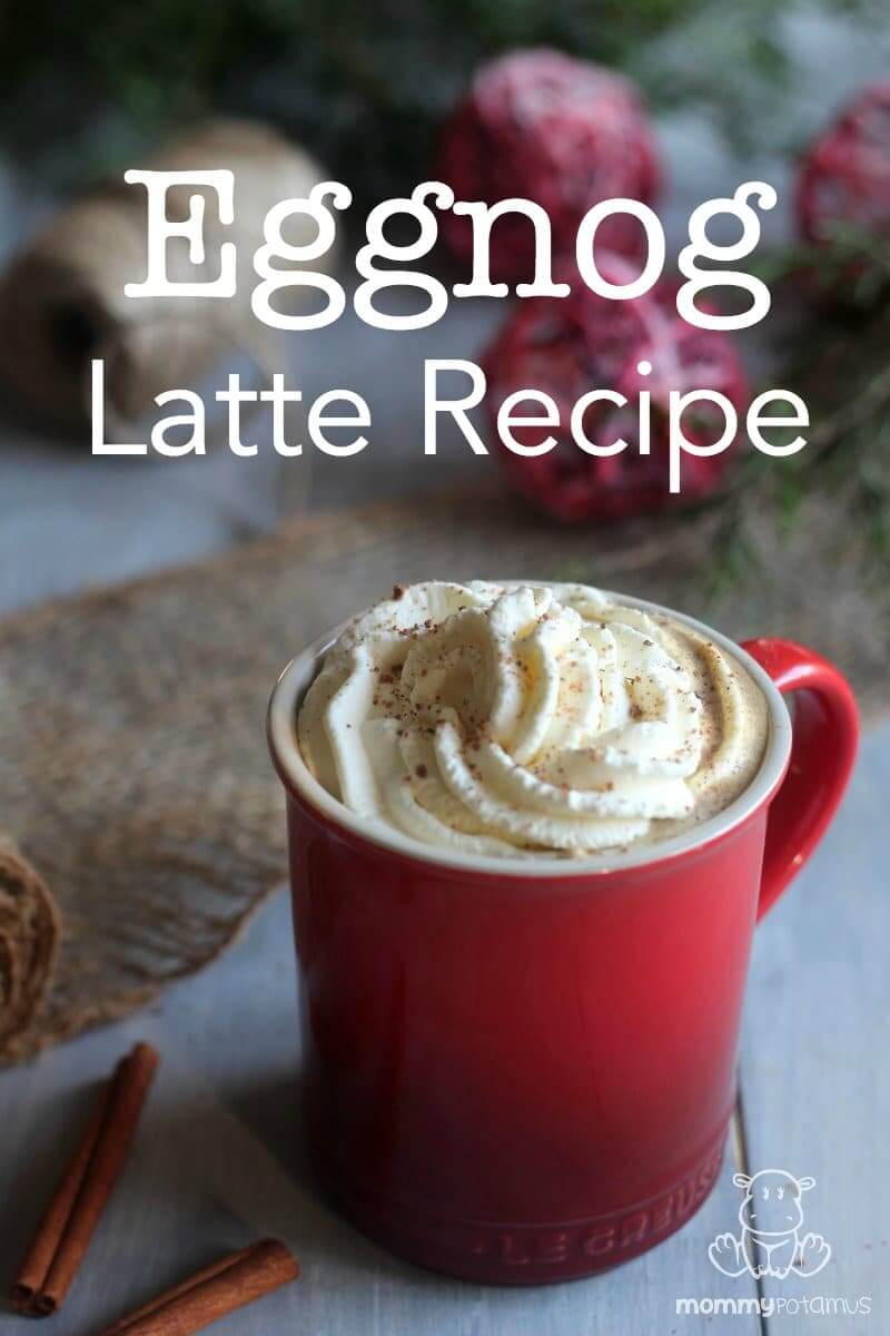 Homemade Eggnot Latte Recipe