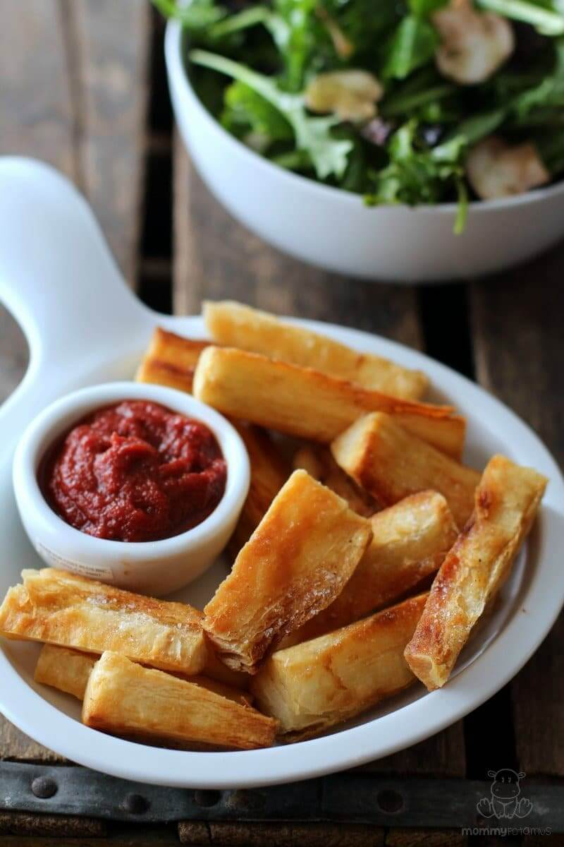 YUCCA FRIES RECIPE - Yucca can be found in the frozen food section of ...