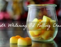 Coconut Oil Pulling Chews With Tooth Whitening Turmeric