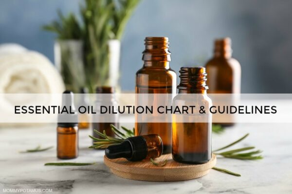 Essential Oil Dilution Chart and Guidelines