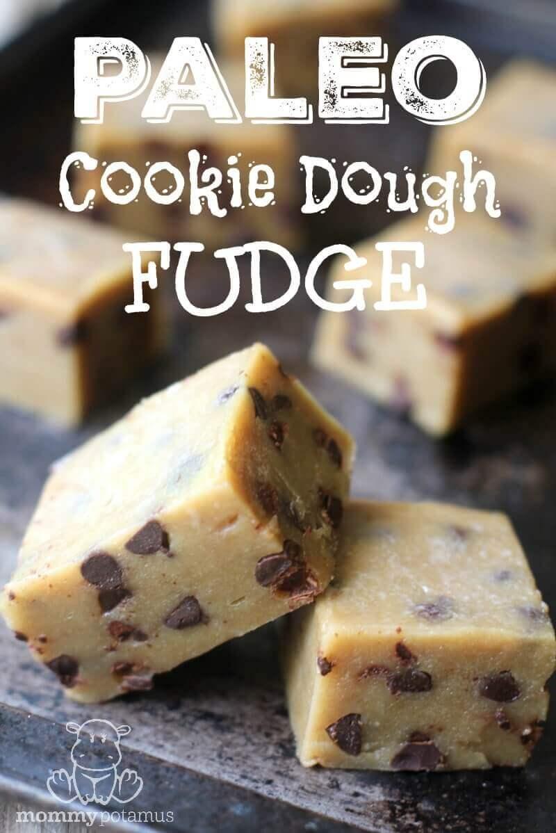 Cookie Dough Fudge Recipe Gluten Free Paleo
