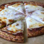 Receita fácil da crosta da pizza do abobrinha 2