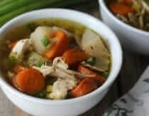 Instant Pot Chicken Soup Recipe