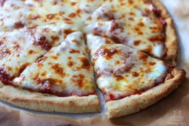 Cassava Flour Pizza Crust, Gluten-Free
